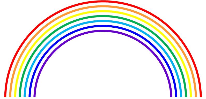 Wie sind die regenbogenfarben